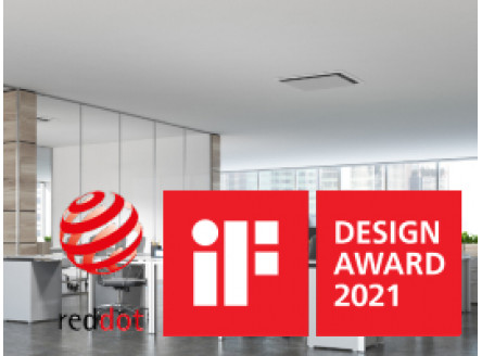 Дизайнерские кондиционеры на Red Dot Design Award и IF Design Award